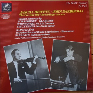 EX 7 49375 1 Jascha Heifetz The Pre-War HMV Recordings (1934-1937)