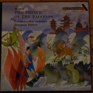 GOS 558-9 Britten Prince of the Pagodas / Britten HP LIST FFRR 2 LP box