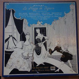 ALP 1312-15 Mozart Nozze di Figaro / Gui R/G 4 LP