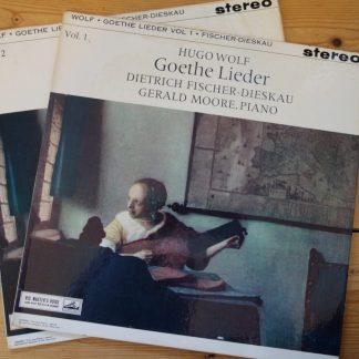 ASD 424/5 Hugo Wolf Goethe Lieder / Dietrich Fischer-Dieskau