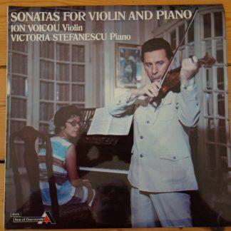 SDD 352 Ravel Enescu Sonatas For Violin And Piano Ion Voicou Victoria Stefanescu