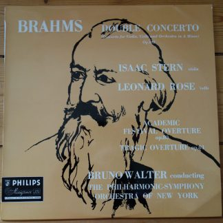 ABL 3139 Brahms Double Concerto / Isaac Stern / Leonard Rose