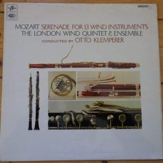 SAX 5259 Mozart Serenade For 13 Wind Instruments / Klemperer E/R