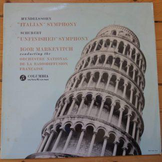 33CX 1394 Mendelssohn Symphony No. 4 / Schubert Symphony No. 8