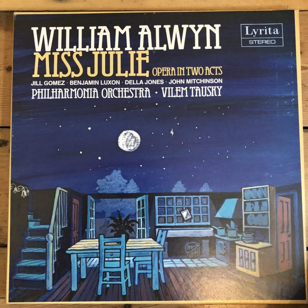 SRCS 121-2 Alwyn Miss Julie - Jill Gomez, etc. / Handley / Philharmonia