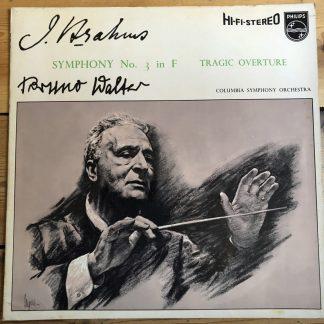SABL 183 Brahms Symphony No. 3, Tragic Overture / Walter / CSO