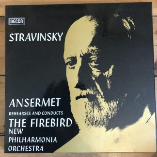 SET 468-468A Stravinsky Ansermet Rehearses & Conducts The Firebird