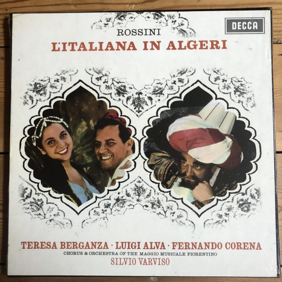 SET 262/4 Rossini L'Italiana in Algeri / Berganza / Alva etc.