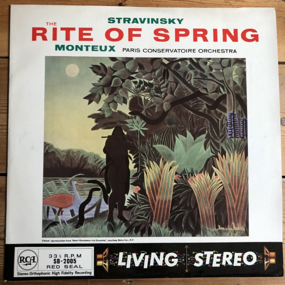 SB 2005 Stravinsky The Rite of Spring / Monteux GROOVED R/S