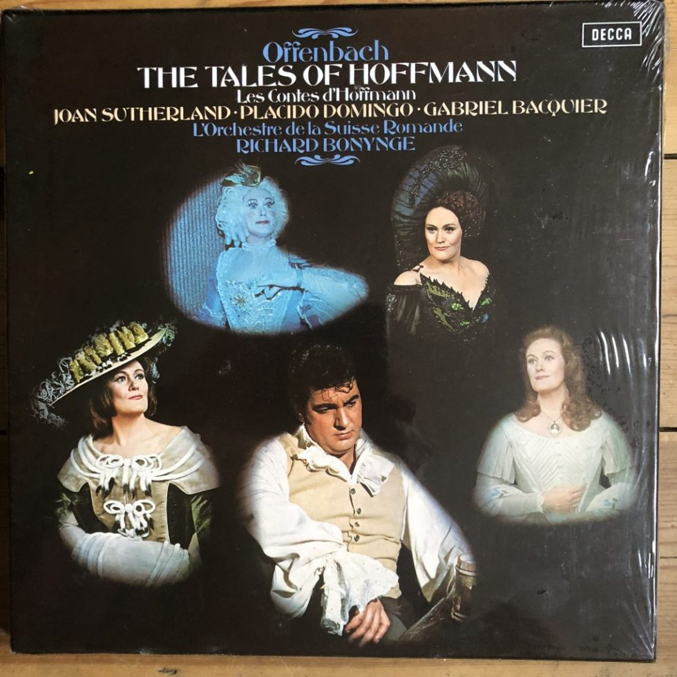 SET 545-7 Offenbach The Tales Of Hoffmann / Sutherland Bonynge