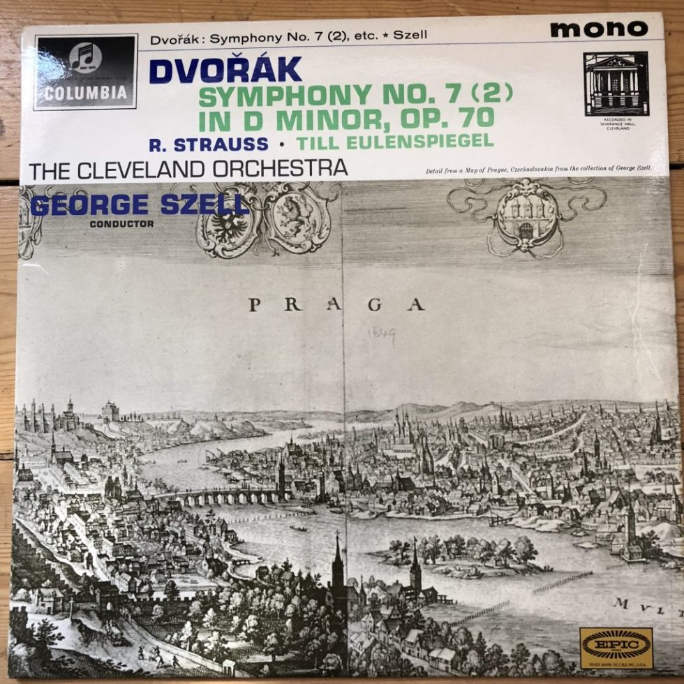 33CX 1856 Dvorak Symphony No. 7 (2) / Strauss Till Eulenspiegel
