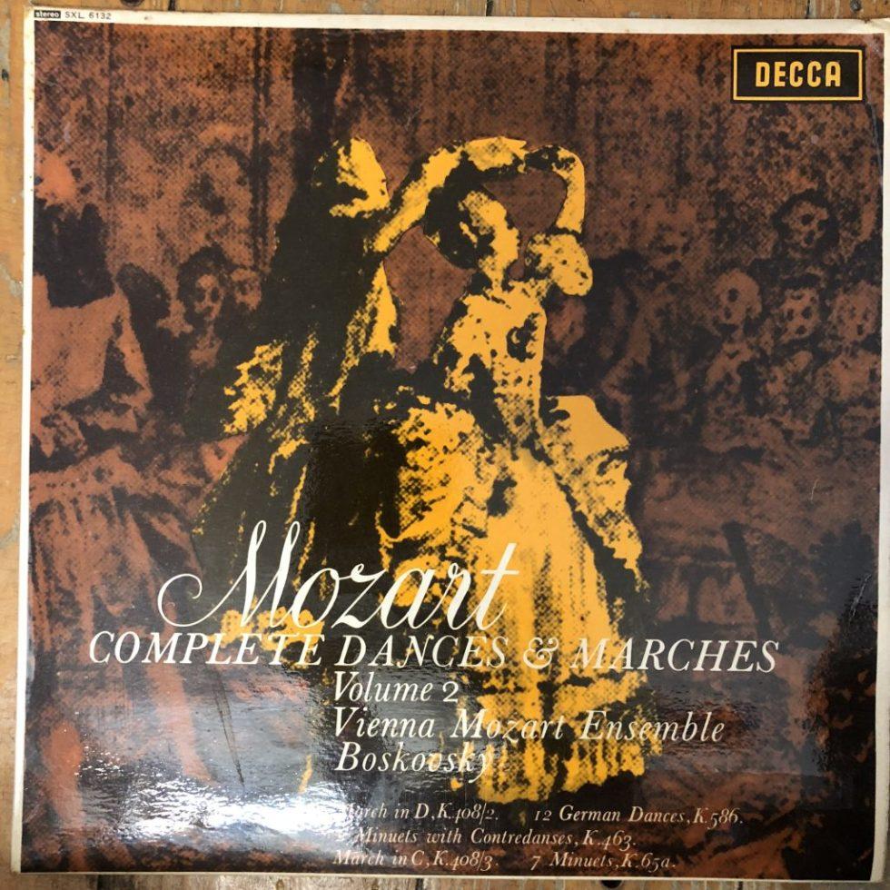 SXL 6132 Mozart Dances & Marches Vol. 2 / Boskovsky W/B