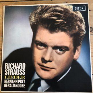 SXL 6107 Richard Strauss Lieder / Herman Prey