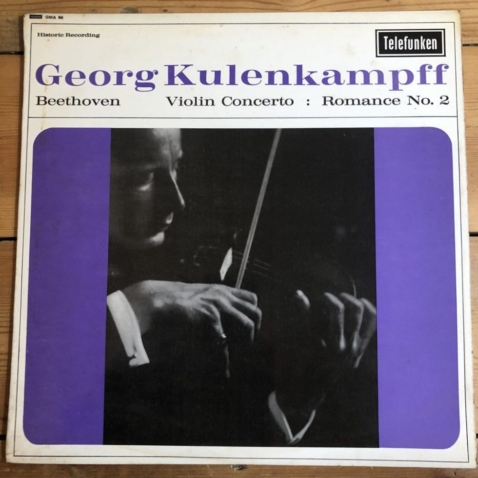 GMA 96 Beethoven Violin Concerto Georg Kulenkampff BPO Hans Schmidt-Isserstedt