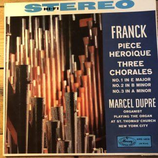 AMS 16030 Franck Piece Heroique etc. / Dupre P/S