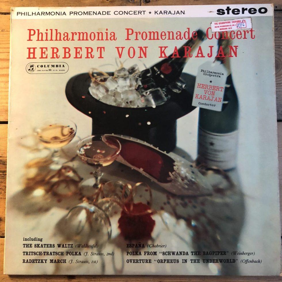 SAX 2404 Philharmonia Promenade Concert / Karajan B/S