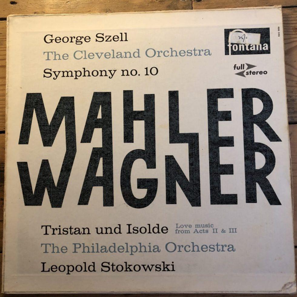 SCFL 107 Mahler Symphony No. 10 etc. / Szell / Philadelphia Orchestra