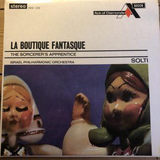 SDD 109 Rossini-Respighi La Boutique Fantasque / Dukas / Solti