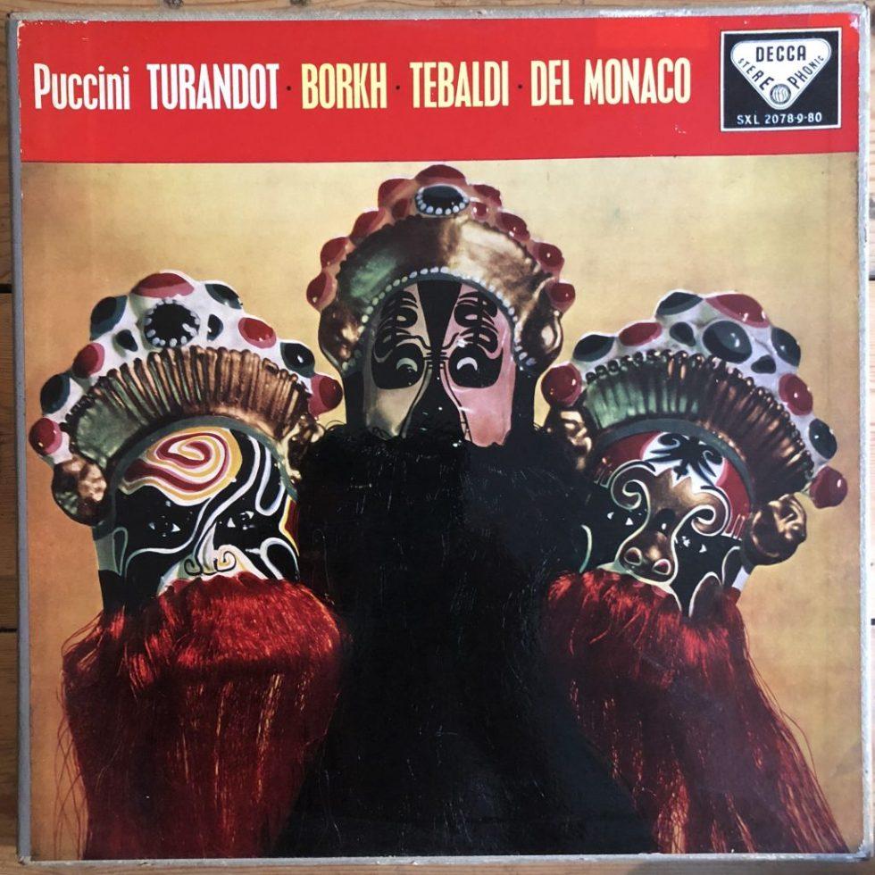 SXL 2078-80 Puccini Turandot / Borkh, Tebaldi, Del Monaco