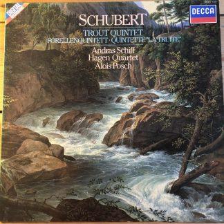 411 975-1 Schubert Trout Quintet / Hagen Quartet