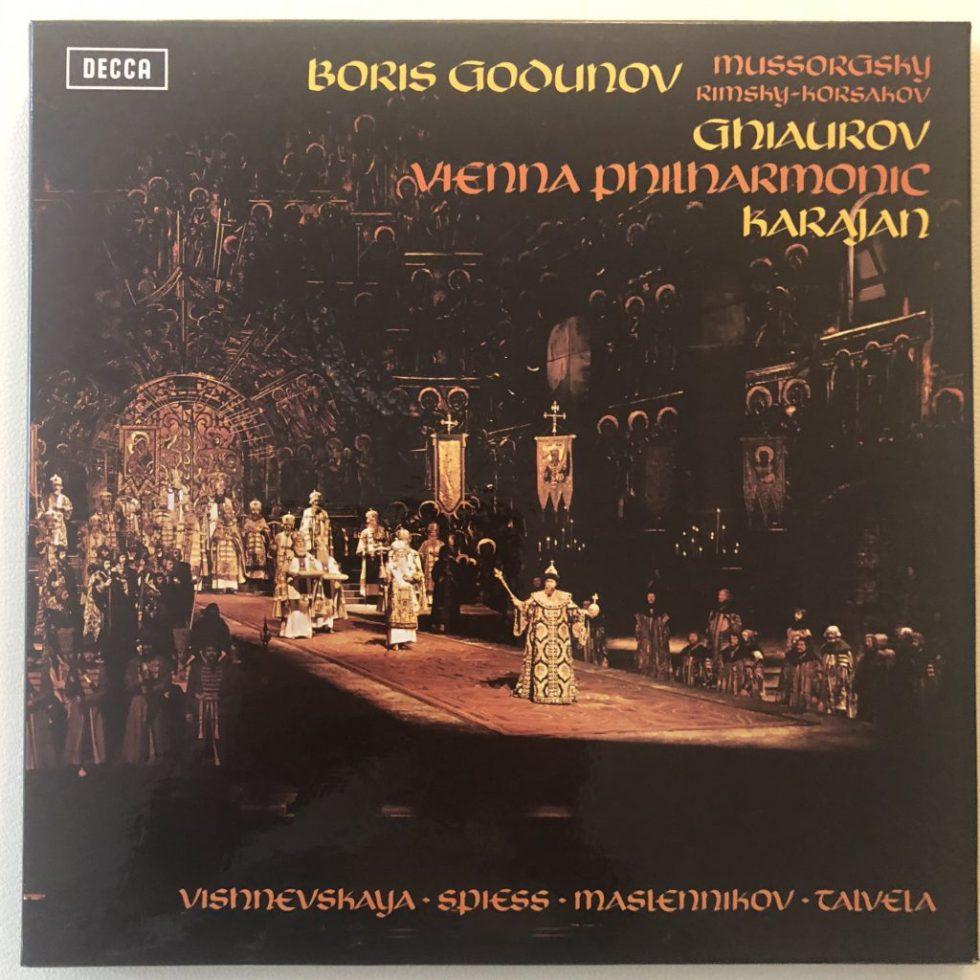 SET 514-7 Mussorgsky Boris Godunov / Karajan etc