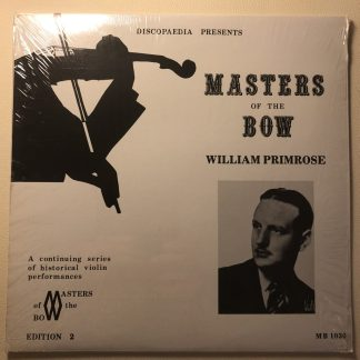 MB 1030 Master of the Bow - William Primrose