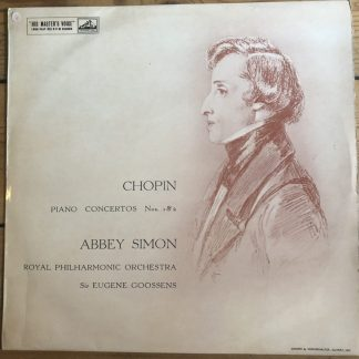ALP 1590 Chopin Piano Concertos Nos. 1 & 2
