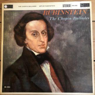 SB 2082 Chopin Ballades / Rubinstein