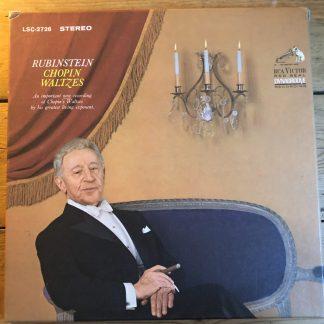 LSC 2726 Chopin Waltzes / Rubinstien