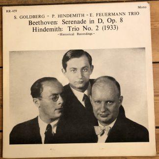 RR-459 Beethoven Serenade / Hindemith Trio