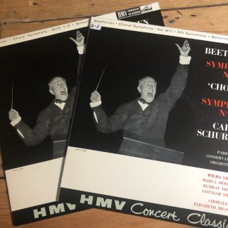 XLP 20001/02 Beethoven Symphonies 9 & 5