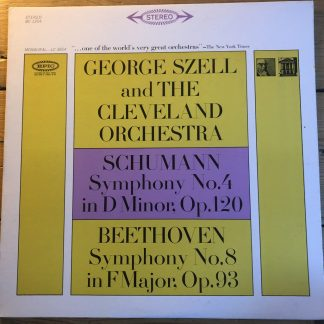 BC 1254 Beethoven Sym No. 8 / Schumann Sym No. 4 / Szell
