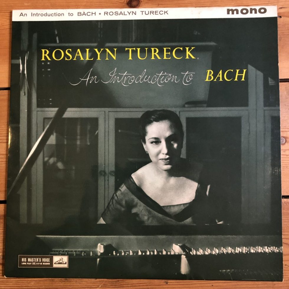 ALP 1747 An Introduction To Bach Rosalyn Tureck R/G