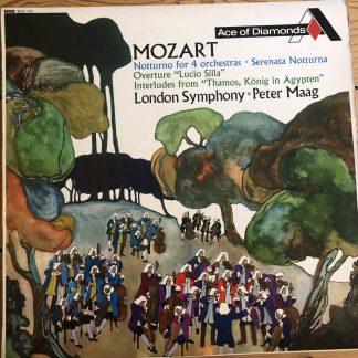 SDD 171 Mozart Notturno for 4 orchestras etc.