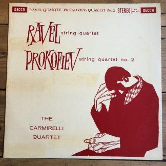 SXL 2231 Ravel / Prokofiev String Quartets