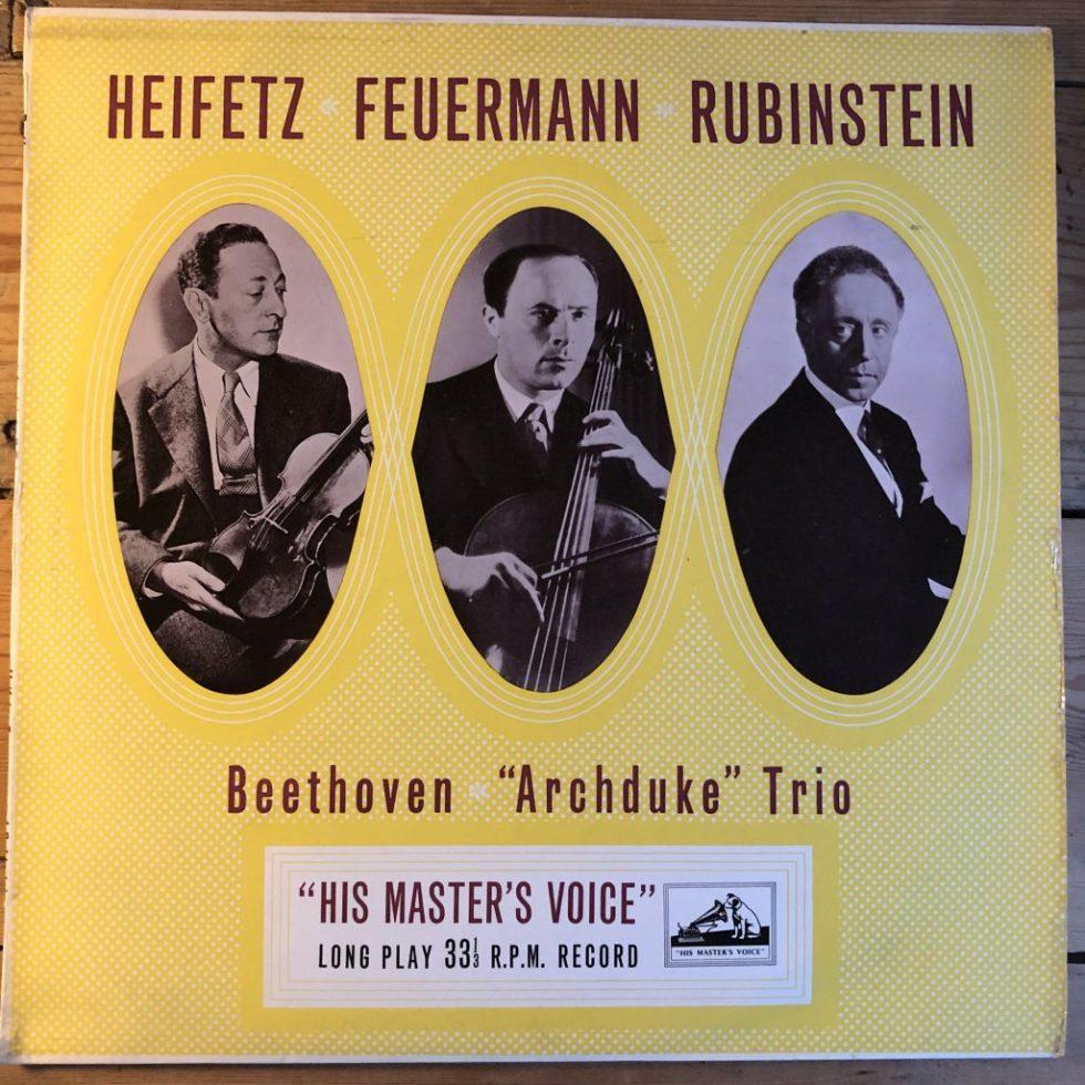 ALP 1184 Feuermann Heifetz Rubinstein