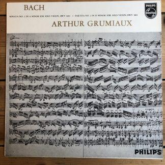 SAL 3473 Bach Sonatas No. 2