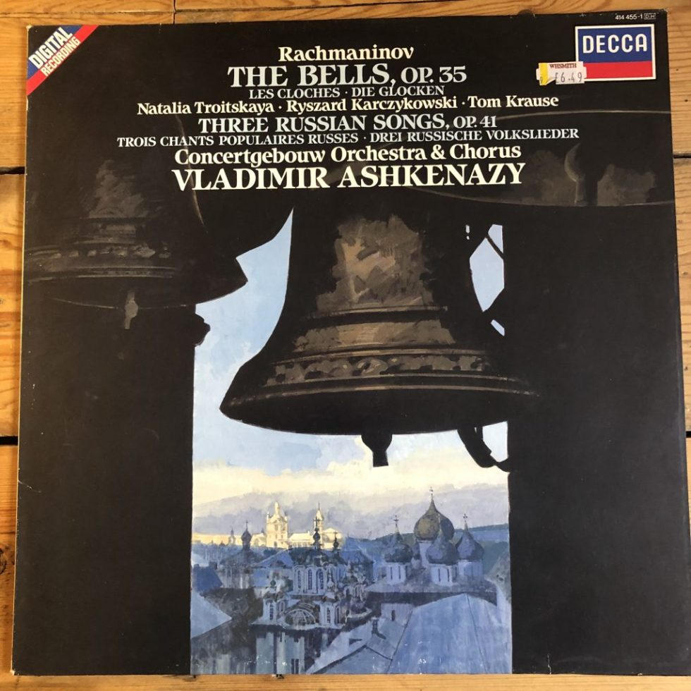 414 455-1 Rachmaninov The Bells