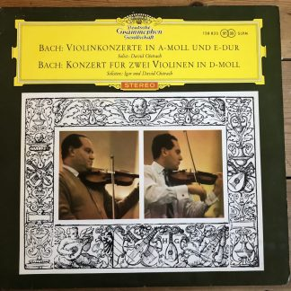 138 820 Bach Violin Concertos
