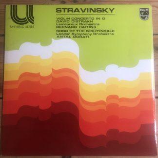 6585 003 Stravinsky Violin Concerto / David Oistrakh / Haitink