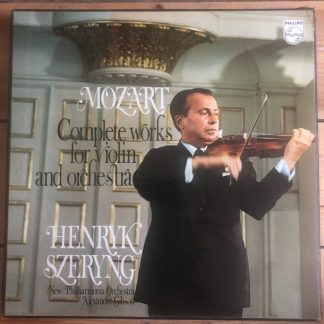6707 011 Mozart Violin Works