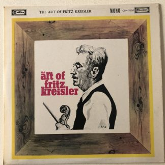 CDN 1026 The Art of Fritz Kreisler