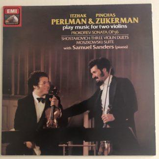 ASD 3861 Moszkowski / Shostakovich / Prokofiev / Perlman & Zukermann