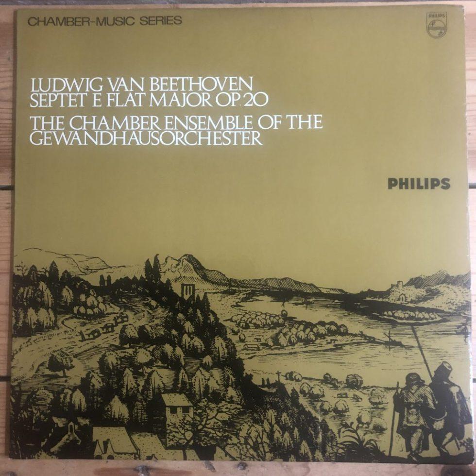 SAL 3595 Beethoven Septet in Eb Maj Op. 20 / Gewandhausorchester CO P/S