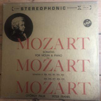 SVBX 546 Mozart Sonatas for Violin