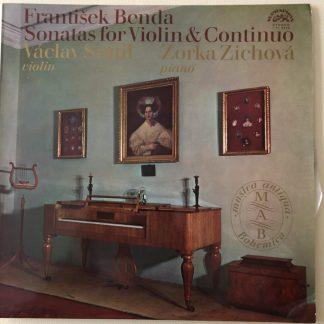 1 11 0976 František Benda Violin Sonatas
