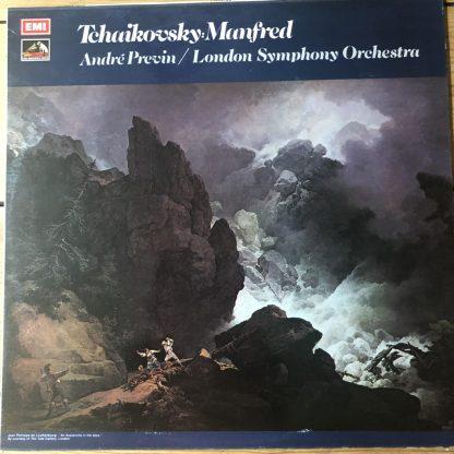 ASD 3018 Tchaikovsky Manfred Symphony / Previn / LSO HP LIST