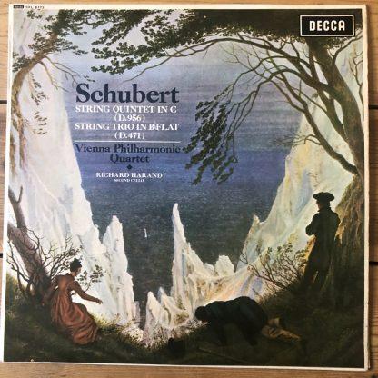 SXL 6173 Schubert String Quintet etc. / Vienna Philharmonic Quartet W/B
