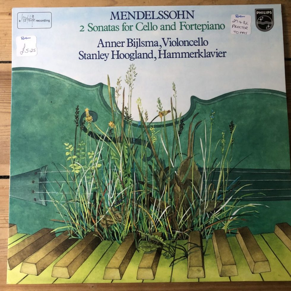 9500 953 Mendelssohn Cello Sonatas / Anner Bijlsma / Stanley Hoogland
