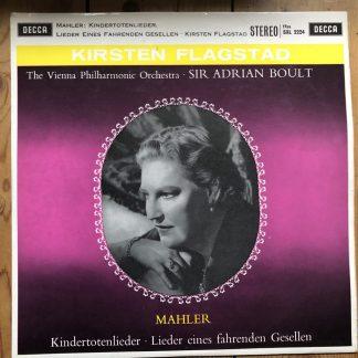 SXL 2224 Mahler Kindertotenlieder, etc. / Kirsten Flagstad /